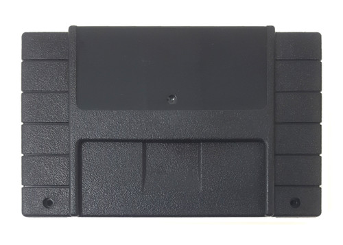 *PITCH BLACK* Super EverDrive / SD2SNES North American Cart Shell