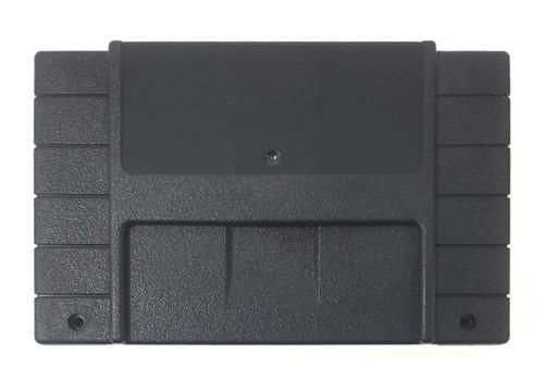*PITCH BLACK* Super EverDrive / SD2SNES / FXPak Pro  North American Cart Shell