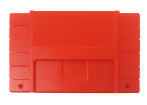 *FLAME RED* Super EverDrive / SD2SNES / FXPak Pro  North American Cart Shell