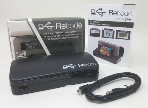 Retrode 2 - Cart Reader, Rom Dumper for Super Nintendo, Genesis, & More