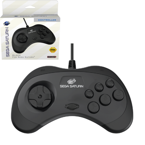 SEGA Saturn Control Pad - Officially Licensed