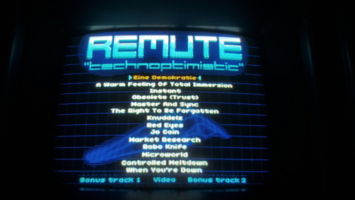 Remute - Technoptimistic Sega Genesis Audio Music Album Cartridge