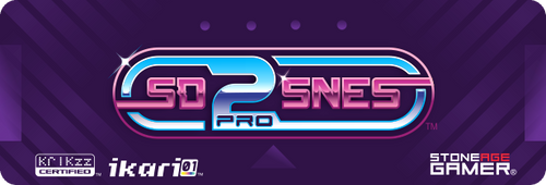 SD2SNES Pro Front Label (Japanese / European)