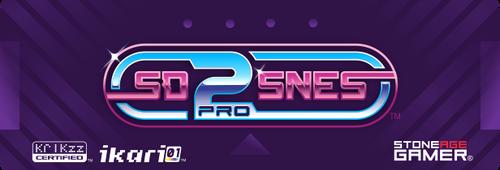 SD2SNES Pro Front Label (Japanese / European)