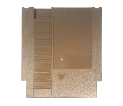 *GOLD PLASTIC* EverDrive-N8 NES Cart Shell