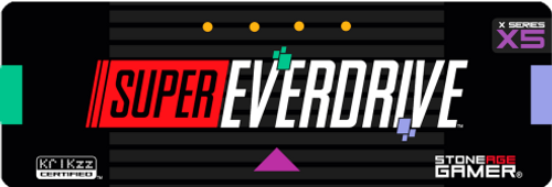 Super EverDrive X5 Front Label (Japanese / European)