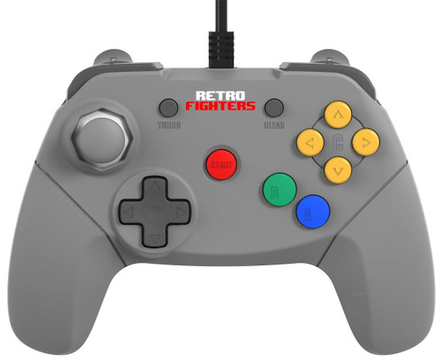 Retro Fighters Brawler64 Next Gen N64 Controller Game Pad