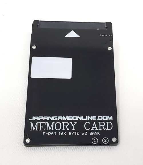 JGO Neo Geo Memory Card for AES and MVS consoles
