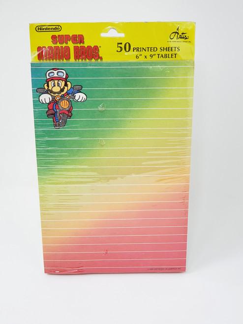 Vintage Super Mario Bros. Notepad (Mario on Bike)