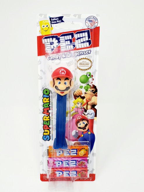 Super Mario Characters PEZ Candy