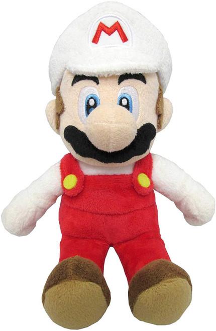 "PLUSH Fire Mario 10"""
