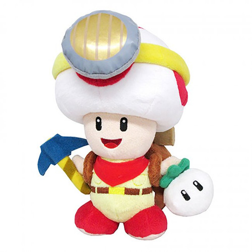 PLUSH Captain Toad Standing 9""
