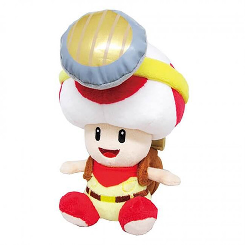 PLUSH Captain Toad Sitting Pose 8""