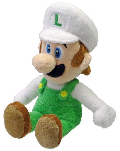 PLUSH Fire Luigi 9 inch