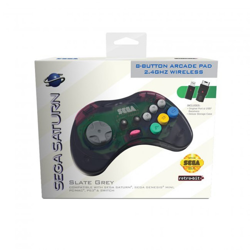 SEGA Saturn Wireless 2.4ghz Control Pad - Officially Licensed