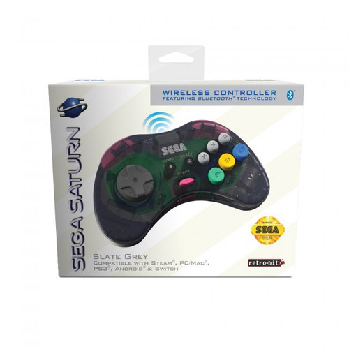SEGA Saturn Bluetooth Wireless Control Pad - Officially Licensed