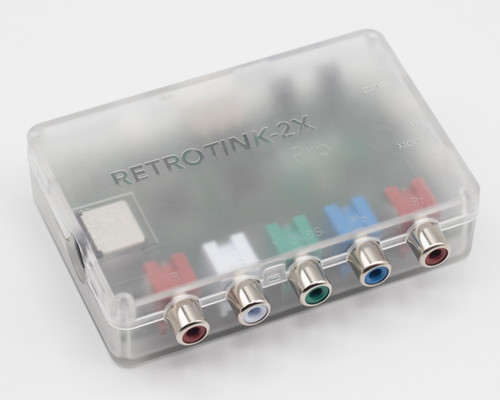 RetroTink 2X Pro - Component, S-video, Composite, to Digital Video Output
