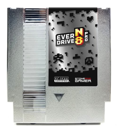 EverDrive-N8 Pro (Silver) [NES]