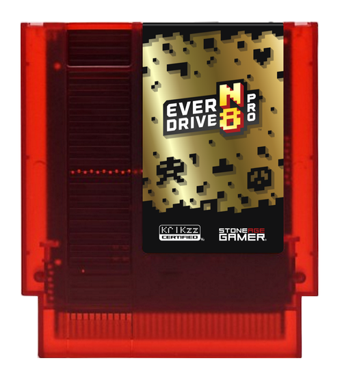 EverDrive-N8 Pro (Red & Gold) [NES]