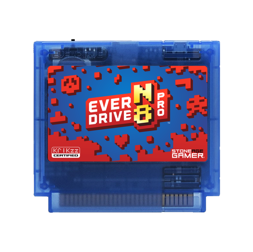 EverDrive-N8 Pro (Jumpman - Blue) [Famicom]