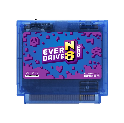 EverDrive-N8 Pro (Monster - Blue) [Famicom]