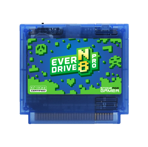 EverDrive-N8 Pro (Azure Jungle - Blue) [Famicom]