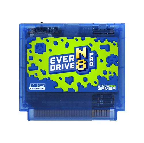 EverDrive-N8 Pro (Toxic - Blue) [Famicom]