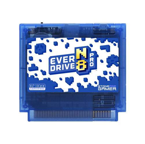 EverDrive-N8 Pro (Winter - Blue) [Famicom]