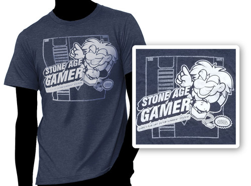 Stone Age Gamer Entertainment Shirt-stem T-Shirt