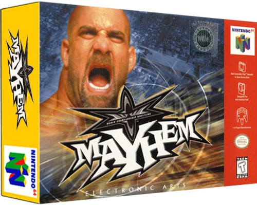 *USED* WCW Mayhem