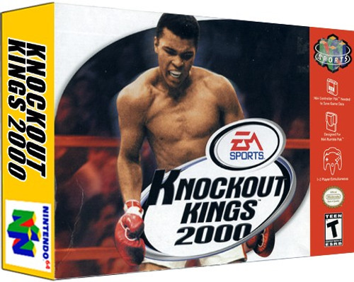*USED* Knockout Kings 2000
