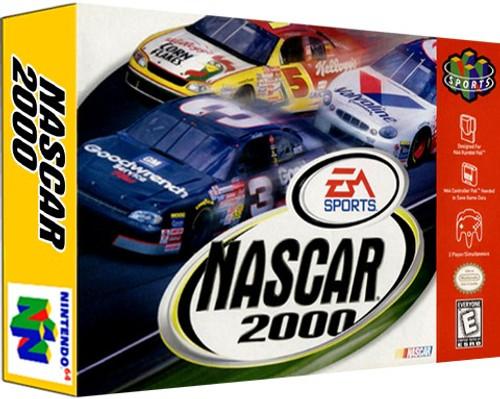 *USED* NASCAR 2000
