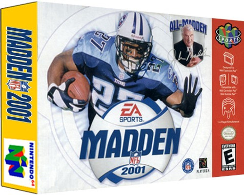 *USED* Madden 2001