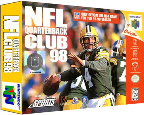 *USED* NFL Quarterback Club 98