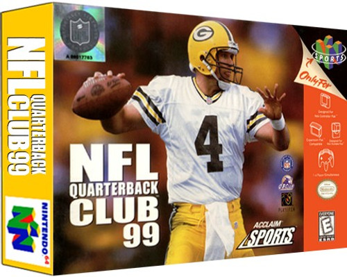 *USED* NFL Quarterback Club 99