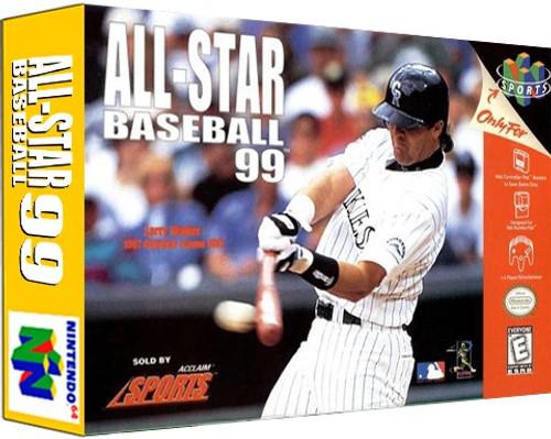 *USED* All-Star Baseball 99
