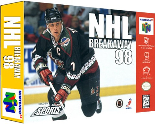 *USED* NHL Breakaway '98