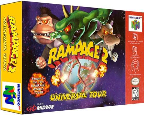 *USED* Rampage 2 Universal Tour