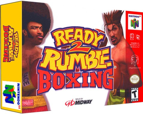 *USED* Ready 2 Rumble Boxing