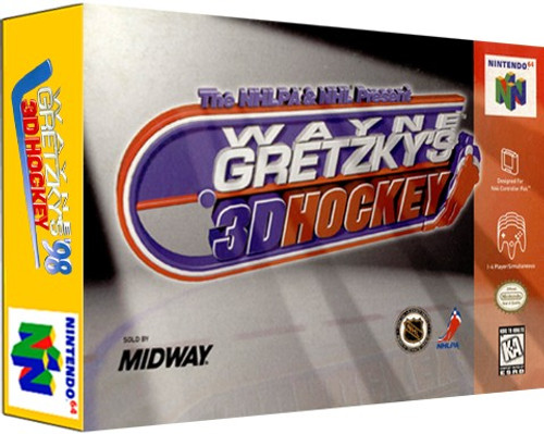 *USED* Wayne Gretzky's 3D Hockey
