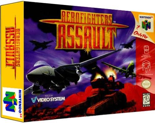 *USED* Aerofighters Assault