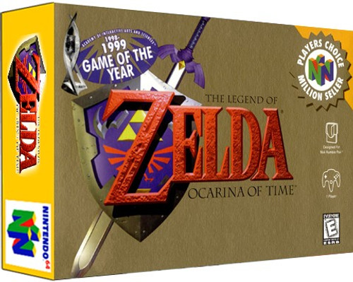 *USED* Zelda Ocarina of Time