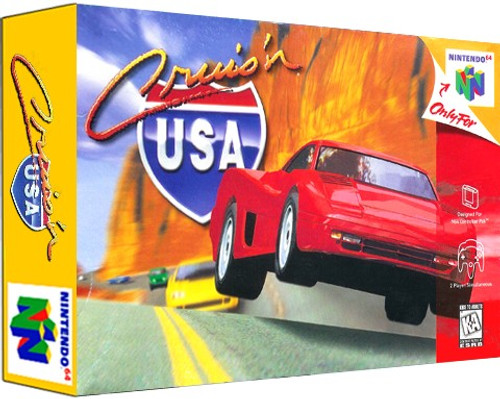 *USED* Cruis'n USA