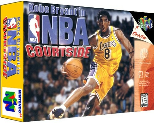 *USED* Kobe Bryant's NBA Courtside