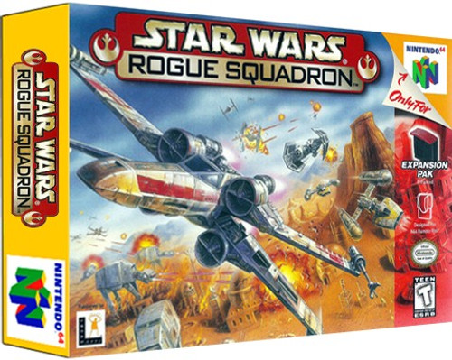 *USED* Star Wars Rogue Squadron