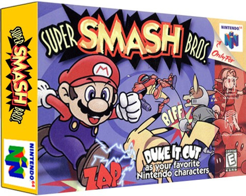 *USED* Super Smash Bros.