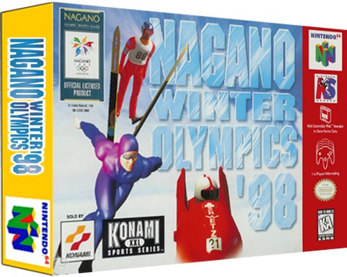 *USED* Nagano Winter Olympics '98
