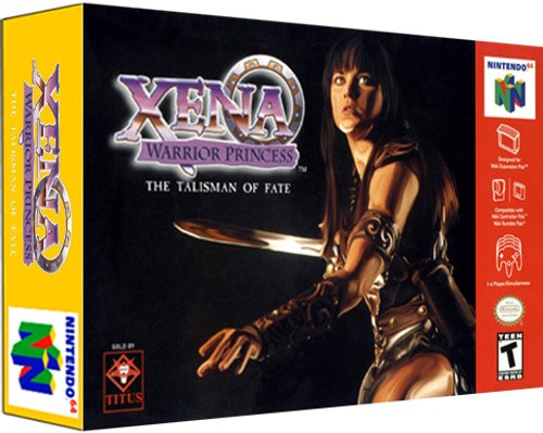 *USED* Xena Warrior Princess