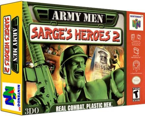*USED* Army Men Sarge's Heroes 2