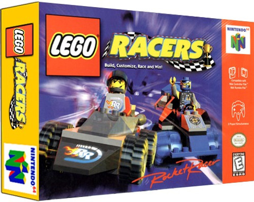 *USED* LEGO Racers
